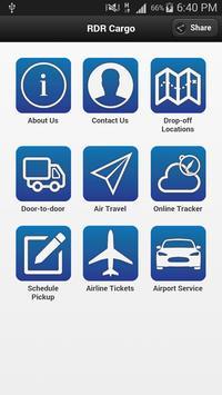 RDR Cargo Mobile Application poster