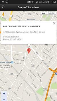 RDR Cargo Mobile Application screenshot 2