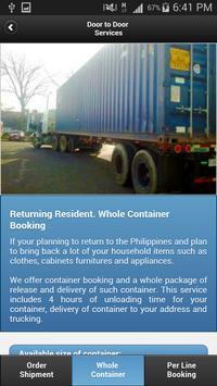 RDR Cargo Mobile Application screenshot 3
