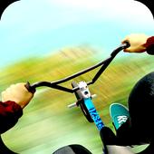 mountain biking crazy stunts icon