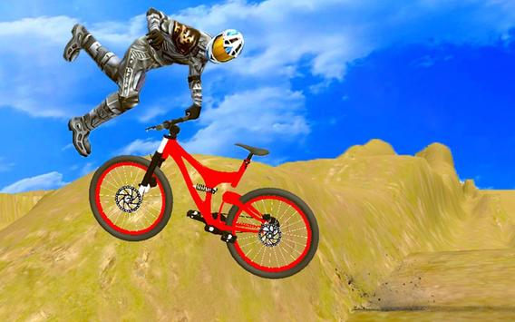 mountain biking crazy stunts apk screenshot
