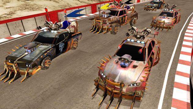 Off Road Death Racing Car Ride screenshot 4