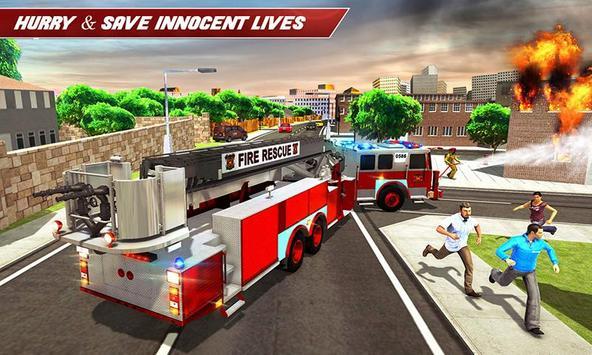Fire Truck Driving screenshot 4