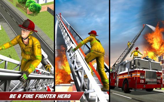 Fire Truck Driving screenshot 7