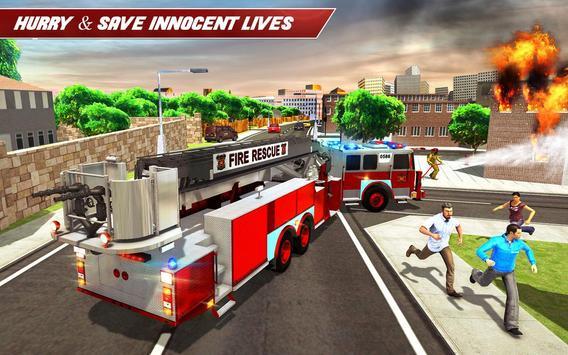 Fire Truck Driving screenshot 9