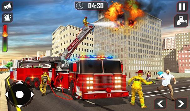 Fire Truck Driving screenshot 11