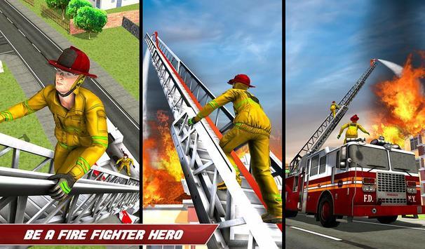 Fire Truck Driving screenshot 12