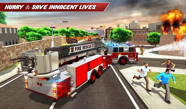 Fire Truck Driving screenshot 14