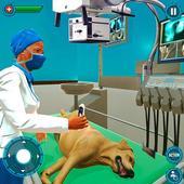 Pet Hospital Vet Clinic Animal Vet Pet Doctor Game アイコン