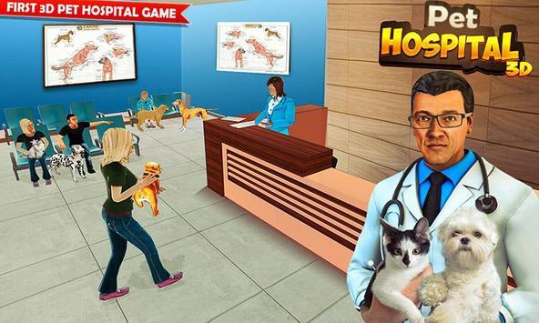 Pet Hospital Vet Clinic Animal Vet Pet Doctor Game スクリーンショット 4