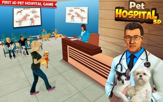 Pet Hospital Vet Clinic Animal Vet Pet Doctor Game スクリーンショット 9