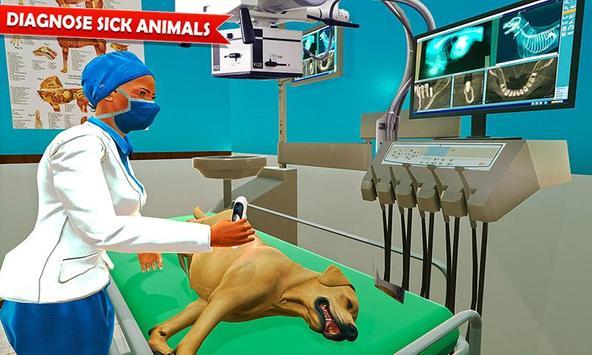Pet Hospital Vet Clinic Animal Vet Pet Doctor Game ポスター