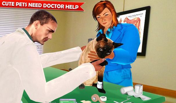 Pet Hospital Vet Clinic Animal Vet Pet Doctor Game スクリーンショット 12