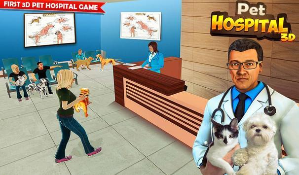 Pet Hospital Vet Clinic Animal Vet Pet Doctor Game スクリーンショット 14