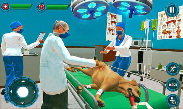 Pet Hospital Vet Clinic Animal Vet Pet Doctor Game スクリーンショット 1