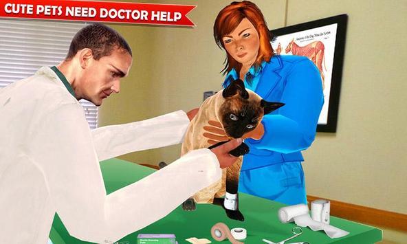 Pet Hospital Vet Clinic Animal Vet Pet Doctor Game スクリーンショット 2