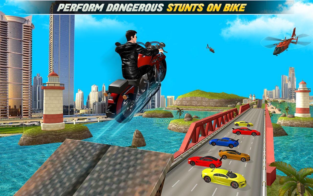 Stuntman Multi Stunt Bike, Car, Run, Parkour Games for