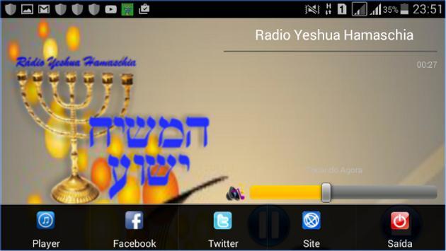 Radio Yeshoua Hamaschiah apk screenshot