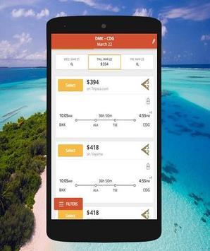 Cheap Flights booking screenshot 1
