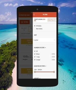 Cheap Flights booking screenshot 2