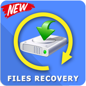 Recover all deleted photos; Files, pictures icon