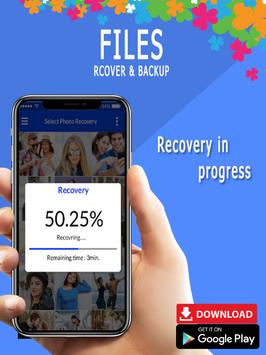 Recover all deleted photos; Files, pictures screenshot 7