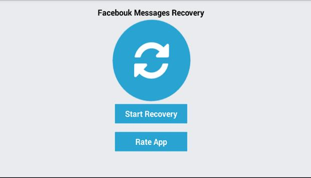 Recovery facbook Message Guide poster