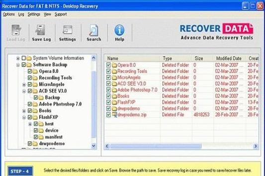 Recovery Of Lost Data Guide poster