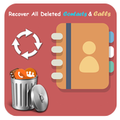 Recover deleted all contacts icon