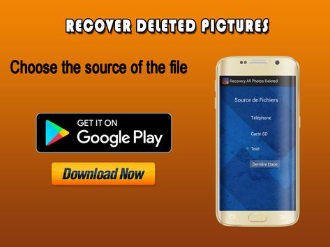 Recover Photo Deleted:Image,Video,Contact,Data,Pic poster