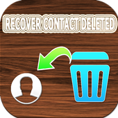 Recover deleted phone numbers icon