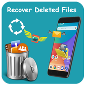 Recover all files, photos and data recovery icon