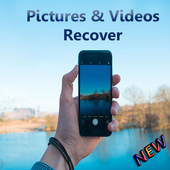 Restore & recover deleted pictures icon