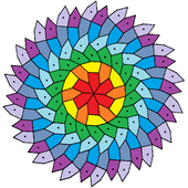 free coloring : art therapy icon