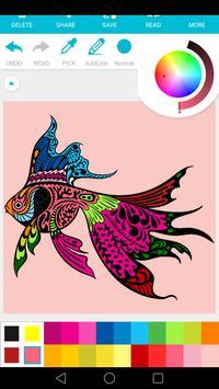 free coloring : art therapy screenshot 3
