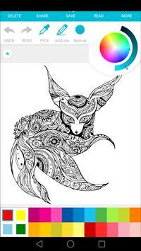 free coloring : art therapy screenshot 4