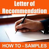 Letter of Recommendation Sample icon