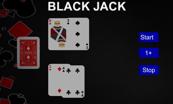 3D Blackjack apk screenshot