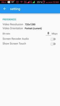 Record Screen Video Audio Foto PRO screenshot 1