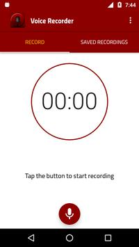 Sound recorder : High-Quality Voice Recorder screenshot 1