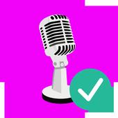 recordering Studio تسجيل الصوت Dictaphone icon