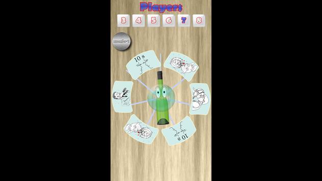 Spin the bottle friends apk screenshot