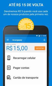 Recarga Celular, Bilhete Único e Pagamentos poster