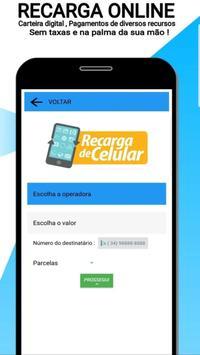 Recarga celular , pagamentos de conta e gift card poster