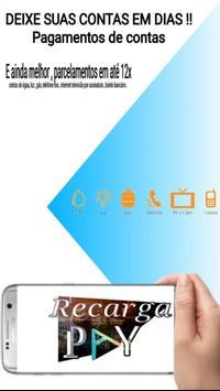 Recarga celular , pagamentos de conta e gift card screenshot 3