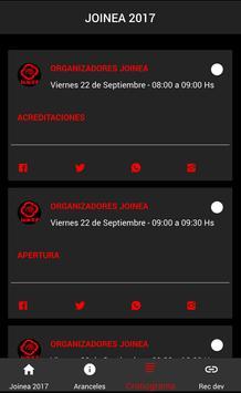 Joinea 2017 screenshot 1