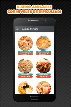 Comida Peruana screenshot 3