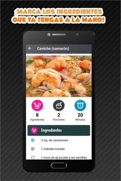 Comida Peruana screenshot 4