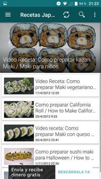 Recetas Japonesas App poster