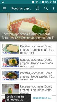 Recetas Japonesas App apk screenshot